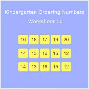Matching Rhyming Words Activity 9 Kindergarten Ordering Numbers Worksheet 10
