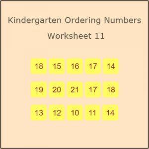 Matching Rhyming Words Activity 9 Kindergarten Ordering Numbers Worksheet 11