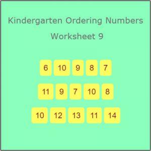 Matching Rhyming Words Activity 9 Kindergarten Ordering Numbers Worksheet 9