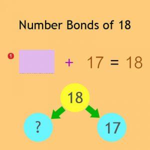 Number Bonds of 18