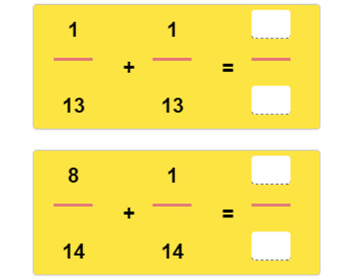 Adding Fractions with Like Denominators Worksheet 20 Adding Fractions with Like Denominators Worksheet 20