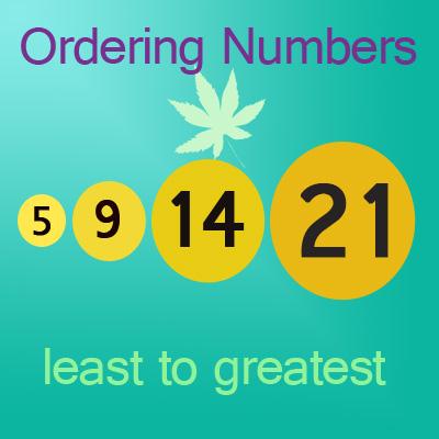 Least to Greatest Numbers Worksheet 20