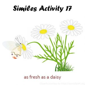 Key Stage Two Similes Activity 17
