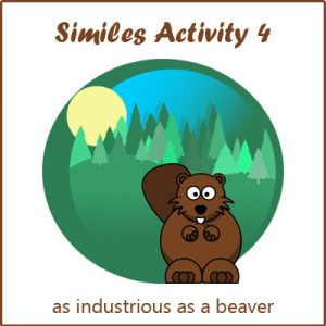 Key Stage Two Similes Activity 4