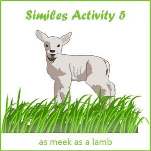 Key Stage Two Similes Activity 5