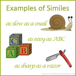 Examples of Similes Examples of Similes