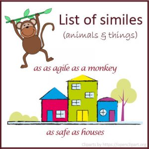 List of Similes List of Similes
