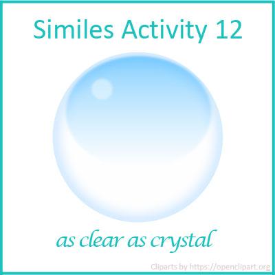 Similes Activity 12