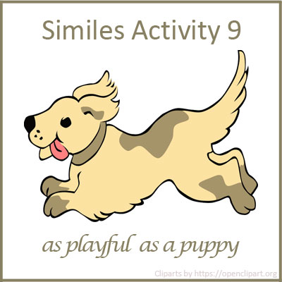 Similes Activity 9