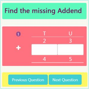 Addition Missing Addend Worksheet 4 Addition Missing Addend Worksheet 4