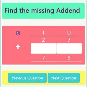 Addition Missing Addend Worksheet 5 Addition Missing Addend Worksheet 5
