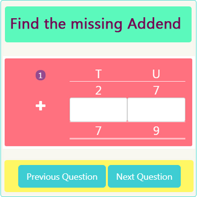 Addition Missing Addend Worksheet 5 Addition Missing Addend Worksheet 5