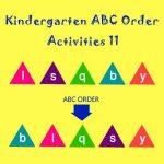 Kindergarten ABC Order Activities 11 Kindergarten ABC Order Activities 11