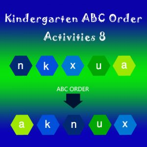 Kindergarten ABC Order Activities 8 Kindergarten ABC Order Activities 8