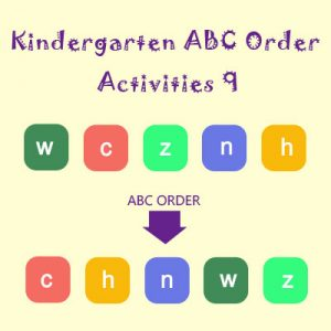 Kindergarten ABC Order Activities 9 Kindergarten ABC Order Activities 9