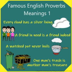Famous English Proverbs Meanings 1 Famous English Proverbs Meanings 1
