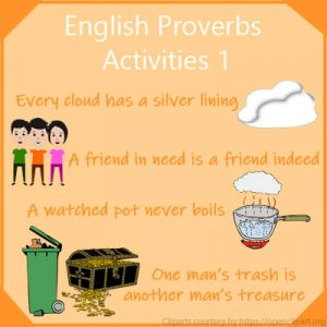 English Proverbs Activities 1 English Proverbs Activities 1