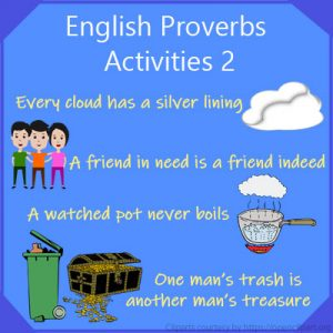 English Proverbs Activities 2 English Proverbs Activities 2