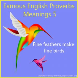 Famous English Proverbs Meanings 5