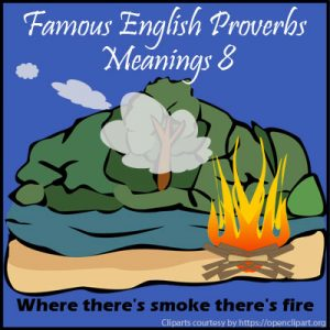 Famous English Proverbs Meanings 8
