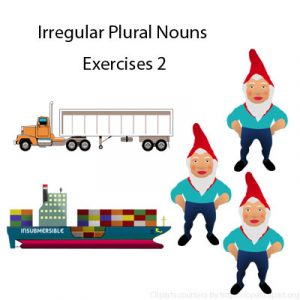 Irregular Plural Nouns Exercises 2 Irregular Plural Nouns Exercises 2