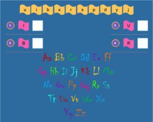 Uppercase and Lowercase Letter Matching Activities 3
