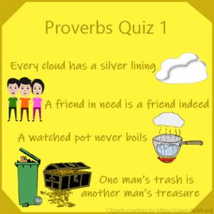 Proverbs Quiz 1 Proverbs Quiz 1