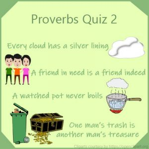 Proverbs Quiz 2 Proverbs Quiz 2