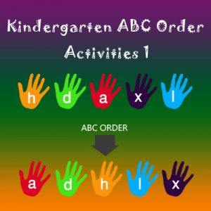 Kindergarten ABC Order Activities 1 Kindergarten ABC Order Activities 1