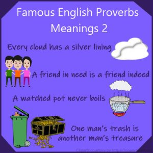 Famous English Proverbs Meanings 2