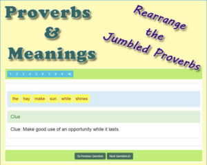 Key Stage Two Famous English Proverbs Meanings 10