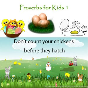 Key Stage Two Proverbs for Kids 1