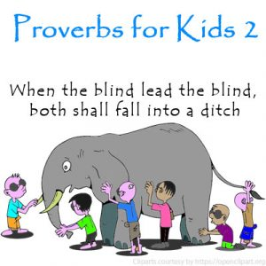 Key Stage Two Proverbs for Kids 2