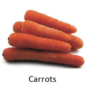 List of food good for your teeth - Carrots are good for your teeth