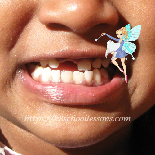 Tooth falling out - Tooth Fairy Time