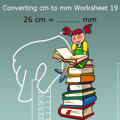 Converting cm to mm Worksheet 19