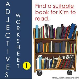 Adjectives Worksheets 1 Adjectives Worksheets 1