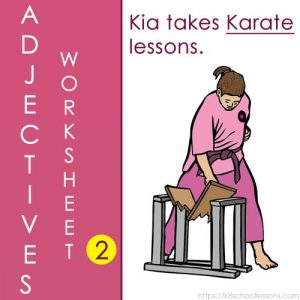 Adjectives Worksheets 2 Adjectives Worksheets 2