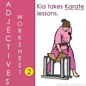 English Adjectives Worksheets 2